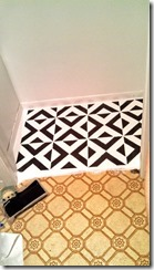 Painted-Linoleum-Floor