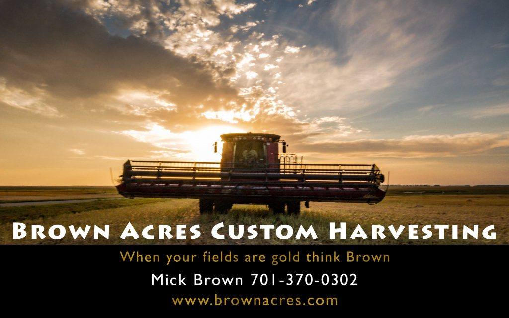 Brown Acres Custom Wheat grain Harvest crew